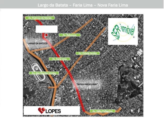 Evolução da Av. Faria Lima e Revitalização do Largo da Batata