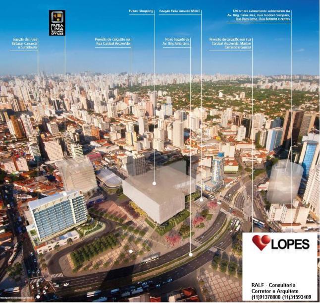 Faria Lima Square Offices 1 - Breve Lançamento - Consultor Ralf