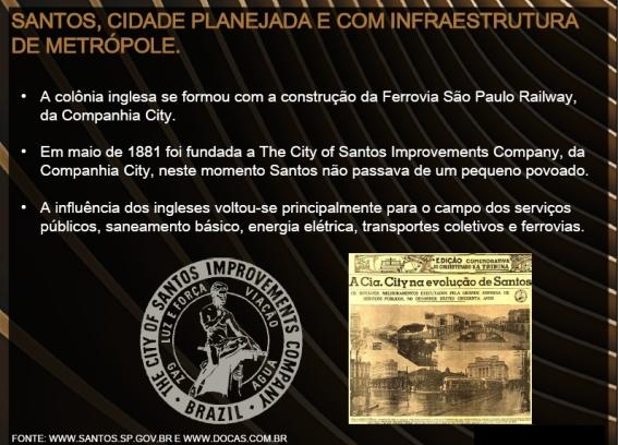 Influência Inglesa na Urbanização de Santos