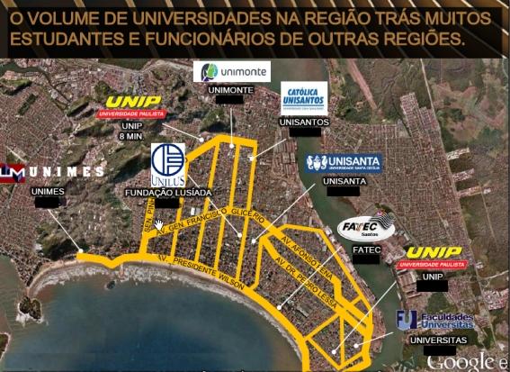 Faculdades e Universidades em Santos