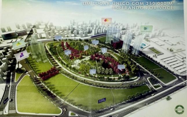 Vista do Parque Central Do Jardim Das Perdizes