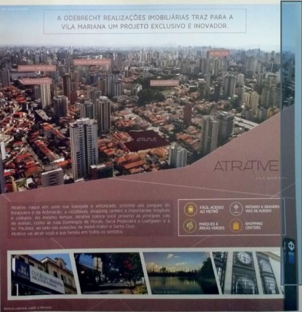Infra estrutura Regiao Atrative Vila Mariana