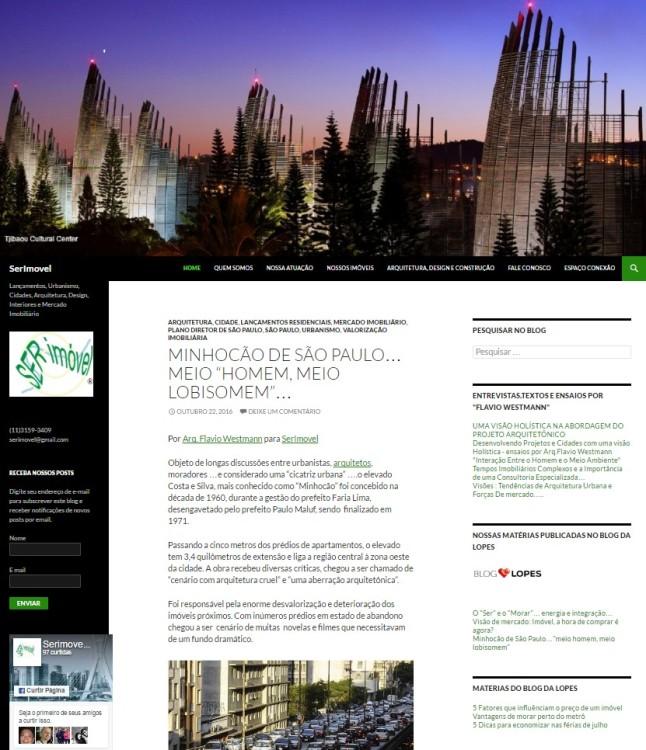 Novo Site SerImovel